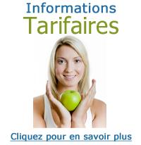 informations tarifaires